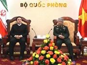 Vietnam et Iran renforcent leur coopération dans la défense