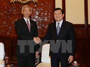 L'ambassadeur thaïlandais reçu par le chef de l'Etat vietnamien