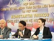Conférence de presse sur les relations Vietnam–Russie en 2015