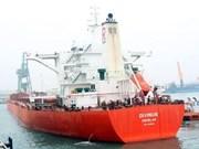 Un cargo de 170.000 tonnes dans le port de Son Duong