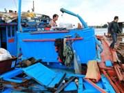 L'APV proteste contre la destruction d'un bateau de pêche vietnamien