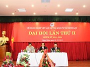Congrès de l'Association des entreprises vietnamiennes au Laos