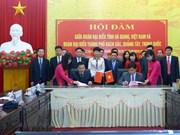 Ha Giang renforce sa cooperation avec la ville chinoise de Baise
