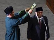 Indonésie : le nouveau président de la Chambre des représentants prête serment