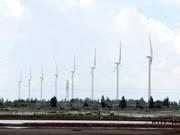 Inauguration du parc éolien de Bac Lieu