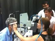 Soins ophtalmologiques pour les populations du delta du Mékong