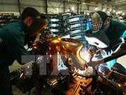 L'indice de la production industrielle progresse de près de 6 % en janvier