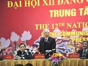 Les félicitations continuent d'arriver pour le secrétaire général du PCV