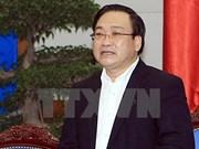 Hoang Trung Hai assume les fonctions de secrétaire du Comité du Parti de Hanoi