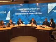 Les experts russes apprécient la coopération avec l'ASEAN