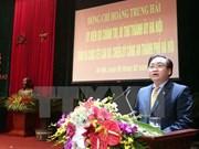 Têt : Hoang Trung Hai rend visite aux forces armées de la capitale
