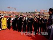 La vice-présidente Nguyen Thi Doan participe à la Fête des Labours à Ha Nam