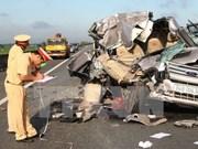 Les accidents de la route font 210 morts en huit jours de vacances du Têt