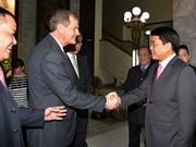 Une délégation religieuse américaine en visite à Hanoi