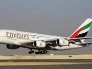 Emirates Airlines réalisera des vols quotidiens Dubai-Hanoi