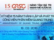 La sarl de développement du parc des logiciels Quang Trung à l'honneur
