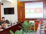 Des diplomates indiens en visite à l'Université des télécommunications