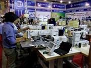 Exposition internationale sur le textile et l'habillement à Ho Chi Minh-Ville