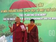 Une cérémonie de plantation d'arbres pour un Hanoi plus vert et plus propre