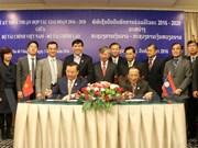 Vietnam et Laos resserrent leur cooperation dans la finance