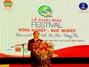 Le Festival de l'agriculture et de la pêche à Ba Ria – Vung Tau