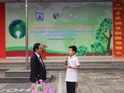 Lancement du concours sur la protection de l'environnement à Hanoi