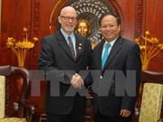 Le président du Parti communiste des Etats-Unis à Ho Chi Minh-Ville