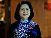 Mme Dang Thi Ngoc Thinh élue vice-présidente de la République