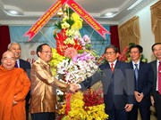 Ho Chi Minh-Ville félicite le Laos et le Cambodge pour le Nouvel An
