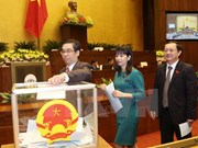 Elections de trois vice-Premiers ministres et de 18 nouveaux ministres