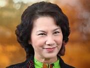 Le Cambodge, le Japon et le Kazakhstan félicitent la présidente de l'AN Nguyên Thi Kim Ngân