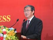 Poursuivant des activités de la délégation du PCV au Laos