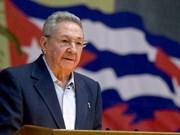 Le chef du PCV félicite le 1er secrétaire du Parti communiste cubain