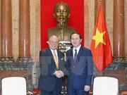 Le président Trân Dai Quang plaide pour le développement des liens Vietnam-Japon