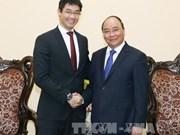 Le Premier ministre reçoit à Hanoi le directeur exécutif du WEF