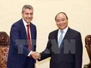 Nguyen Xuan Phuc reçoit un responsable de Goldman Sachs