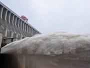 La Chine continue le débit libéré vers le Bas-Mékong