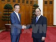 Le PM reçoit le secrétaire du Comité du Parti du Guizhou