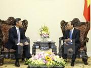 Le PM reçoit le directeur général de Sumitomo Mitsui en Asie-Pacifique