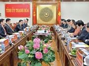 Thanh Hoa déroule le tapis rouge aux investisseurs étrangers