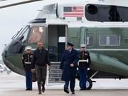 Barack Obama quitte les Etats-Unis pour une tournée en Asie