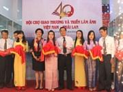Ouverture de la foire commerciale et de l'exposition photographique Vietnam-Thaïlande