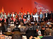Une délégation du PCV au 37e congrès du Parti communiste français