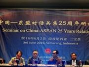 L'ASEAN et la Chine discutent de leur coopération