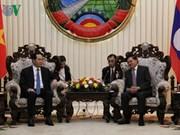 Entrevues entre le président Trân Dai Quang et des dirigeants laotiens