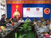 Edification d'une frontière de paix et d'amitié Vietnam-Cambodge