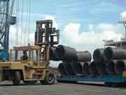 Montée en flèche des importations nationales d'acier en 5 mois