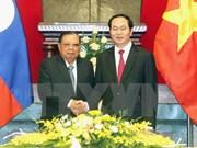 Le chef de l'Etat Tran Dai Quang en visite au Laos et au Cambodge