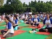 Le Vietnam présent à la 2e Journée internationale du Yoga en Inde