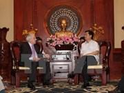 Ho Chi Minh-Ville favorise toujours les activités des investisseurs britanniques